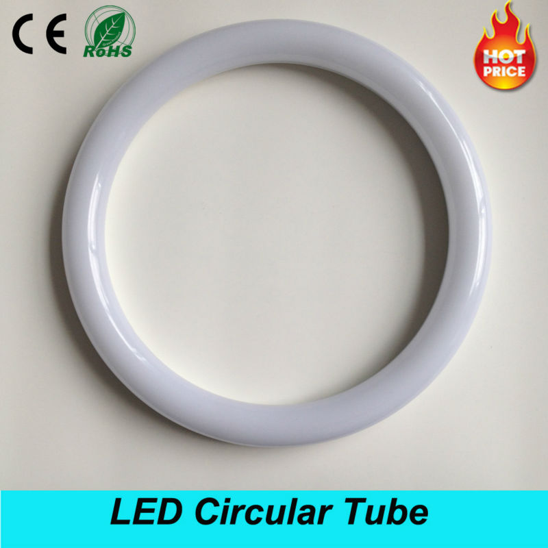 18W AC100-265V G10q SMD2835 T9 LED Circular Tube LED circle light for Free Shipping circle