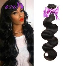 1 Bundle of Body Wave Brazilian Virgin Hair Extension 100% Unprocessed Human Hair Weave Wavy Brazilian Body Wave Virgin Hair