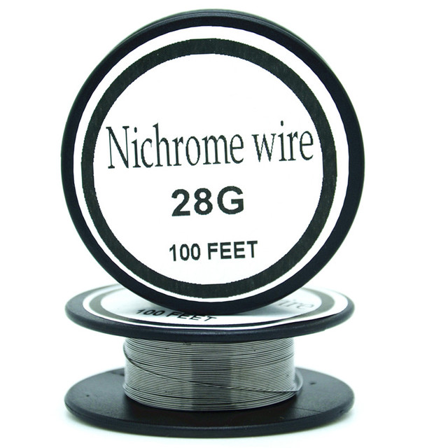 Nichrome wire 28 Gauge 100 FT 0.3mm Resistance Resistor AWG-in Cable ...
