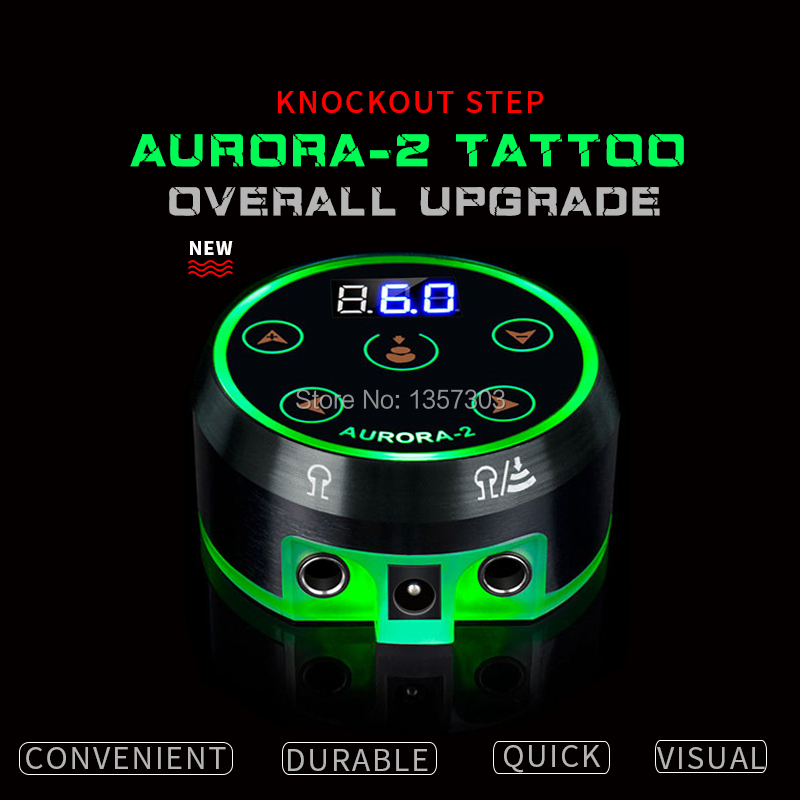 2019 New Professional Mini Critical AURORA LCD Tattoo Power Supply with Power Adaptor for Coil & Rotary Tattoo Machines2019 New Professional Mini Critical AURORA LCD Tattoo Power Supply with Power Adaptor for Coil & Rotary Tattoo Machines