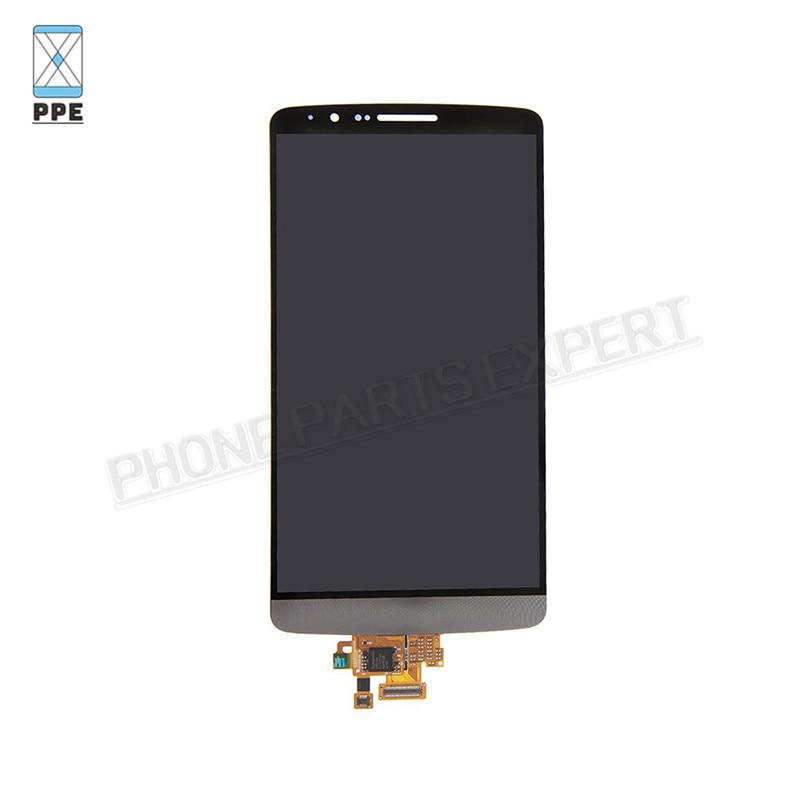 LG G3 D850 D851 D855 VS985 LS990 (LG G3 LCD Grey) (3)