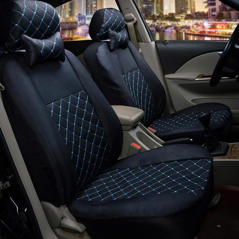 Front seat covers fit Citroen C3 VEST SHAPE VERLOUR  Red