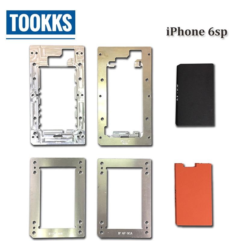 $39.84 YMJ  aluminum laminating mold glass with frame oca laminator for iphone 6SP