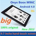 Freeshipping ONYX BOOX M96C Hand-touch 9.7inch android big screen e-book 8G hot sale  Wi-Fi Android OS multi-language E-ink 460