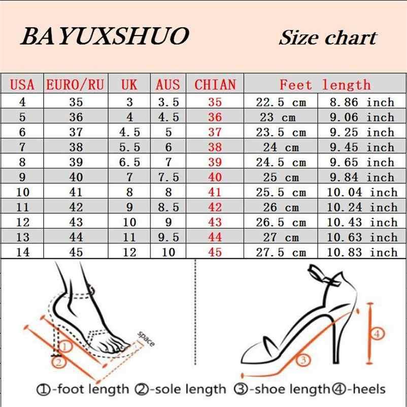 BAYUXSHUONewest/летние босоножки на высоком каблуке в римском стиле, ажурные, черные/белые, на толстом каблуке 7 см, женские пикантные туфли-лодочки с острым носком модная женская обувь