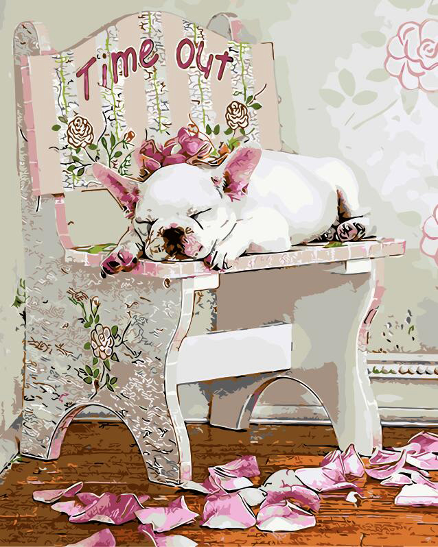 Dog Oil Painting Dogs Home Decor Painting Picture By
