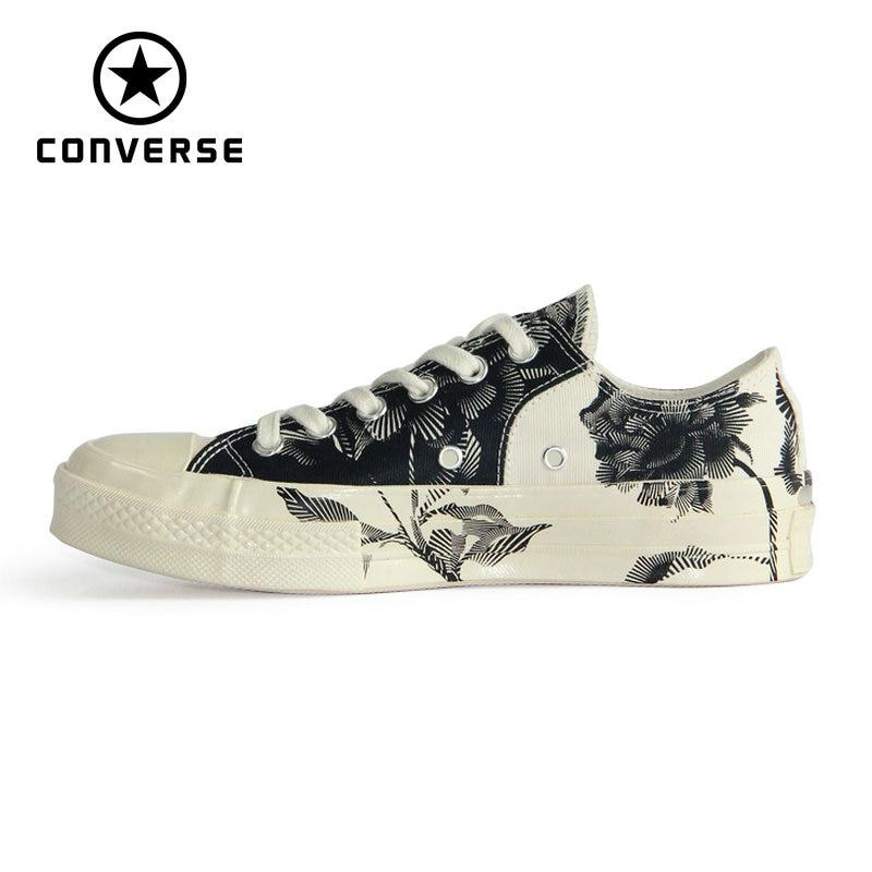 NOUVEAU Converse Rétro version stampa 1970 s Original all star chaussures unisexe sneakers Planche À Roulettes Chaussures 161458C