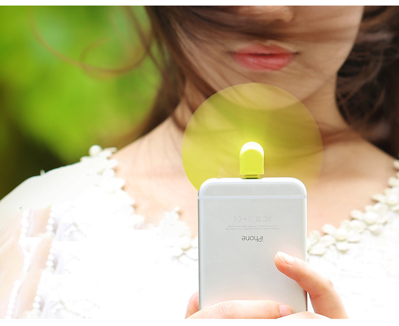 2016 Cooling Fan Ventilator Electronic Gadget PC Cooler Mini Fan Portable Cooling for 5Plus iPhone 5 New 6 6S 5C