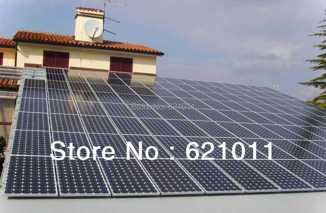 Solar Panel Battery Bank >> 20kw Solar System Home Solar Power System Include Solar Panel