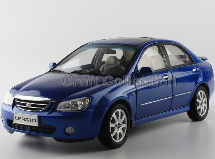 * 1:18 KIA CERATO Sedan Model Diecast Cars Toy Car Gifts Craft Miniature More Colors