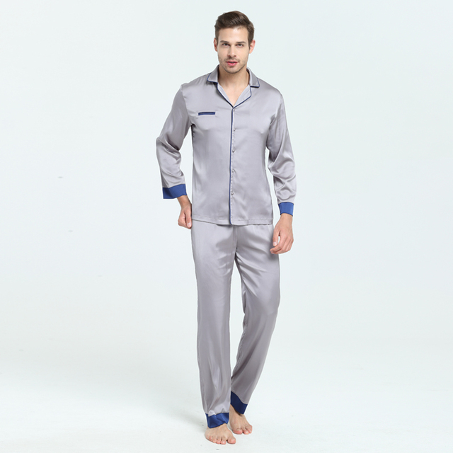 3acb6e312e 7 VEILS Men Women Unisex Autum Spring Polyester Faux Silk Satin Sleepwear  Home. Add Cart.  15.98