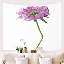 Tapestry Wall Hanging flower Simple Covering Cloth Background Decoration