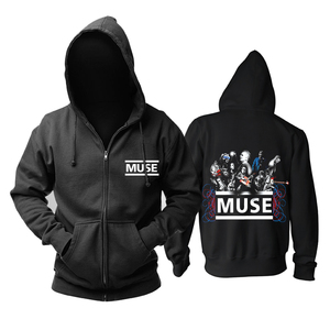 Image 5 - Bloodhoof Muse 2015 The concert Mous punk progressive rock band black top hoodie   Asian Size