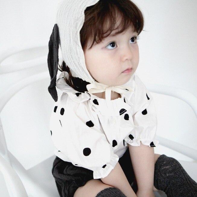 Nowe zestawy ubrań dla dziewczynek Różowe sukienki w paski 1-3 - Odzież dla niemowląt - Zdjęcie 2