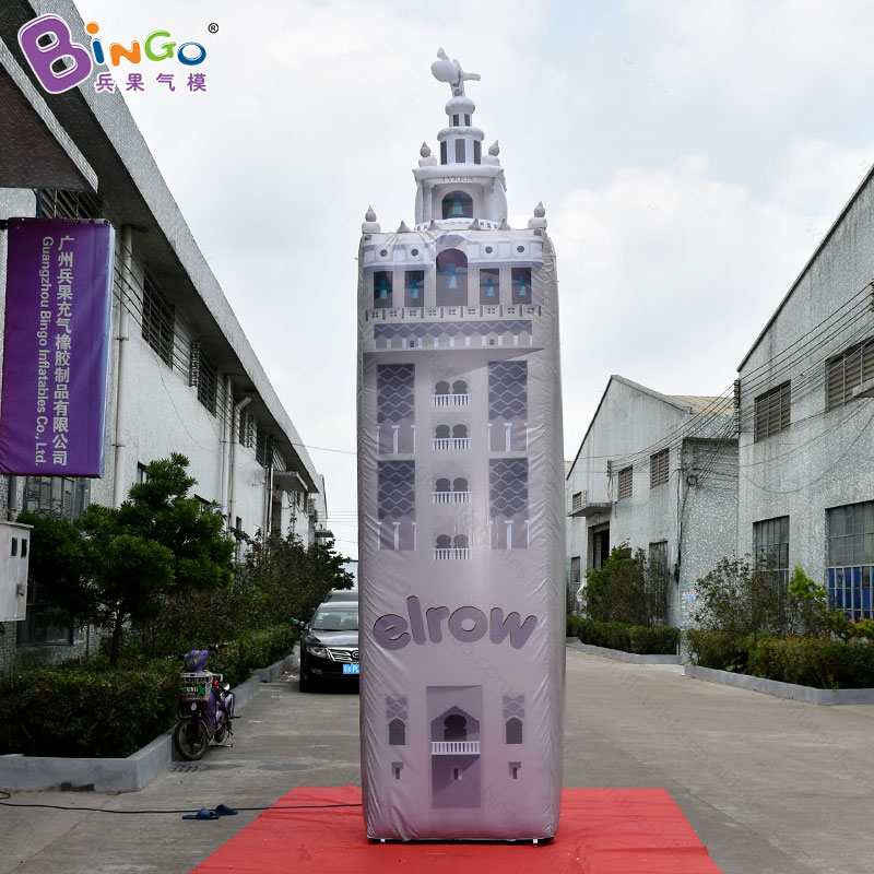 Customized 5 meters high inflatable tower / inflatable bell tower / inflatable column toysCustomized 5 meters high inflatable tower / inflatable bell tower / inflatable column toys