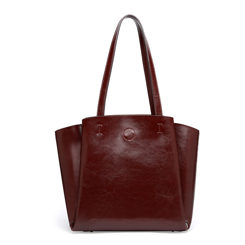 Big Bag Women Handbags Genuine Leather Oil Wax Cowhide Handbags Lady Real Leather shoulder Messenger Bags