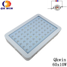 10W Plus 600W Double Chips LED Grow Light Full Spectrum 410-730nm For Indoor Plants and Flower with Very High Yield 4pcs bossled 600w double chips led grow light full spectrum plus 410 730nm for indoor plants and flower phrase very high yield