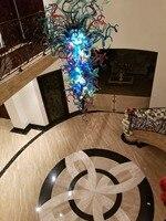 Новые продукты Большой Wall Art Стекло лампы мульти Цвет Рука выдувное Стекло подвесные светильники с светодиодный лампы