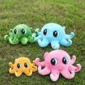 35 cm / 55 cm lindo de la historieta estrellas de colores grandes ojos pulpo de la felpa los juguetes del juguete del regalo de cumpleaños del juguete para los niños YZT0123