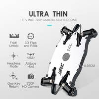 Ultra Thin Selfie Drone With Camera 720p Folding Drones Mini Rc Drone Remote Control Toys For