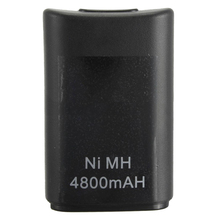 4800 mAh bateria Ni-MH Controller para Xbox Microsoft 360 Gamepad sem fio
