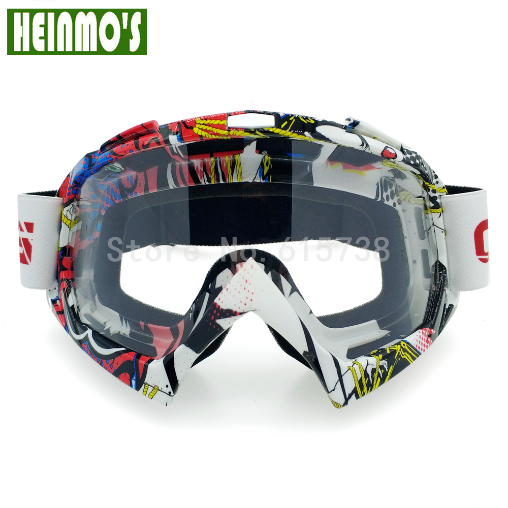 Motocross Gafas de protección Gafas de snowboard Hombres Gafas al - Accesorios y repuestos para motocicletas - foto 3