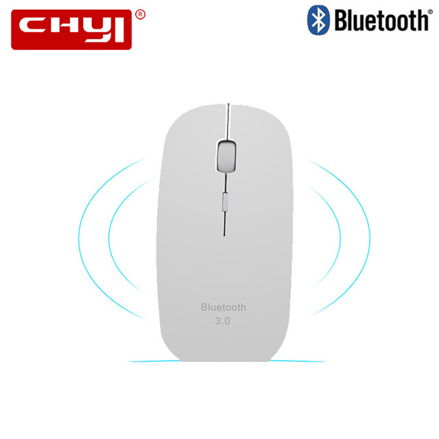 Slim Bluetooth Mouse 3.0 Mini Wireless Mouse Silent Optical Game Mouse 1600DPI Click Gaming Mice for Mac PC Laptop Tablet Mause