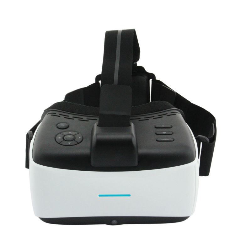all in one 2D 3D VR Headset no need insert mobile phone Supporting WIFI Bluetooth