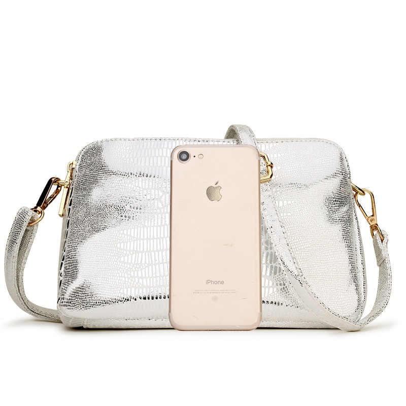 Летняя кожаная сумка-мессенджер женская сумка на плечо женские золотые маленькие сумки через плечо сумка для женщин 2018 женские ручные сумки винтажные