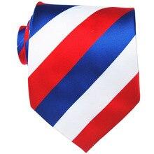 Striped Tie Gift For Men Neckties Silk 1