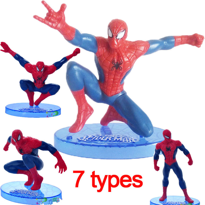 Children's Favourite Awesome Spiderman Toys Brinquedo PVC
