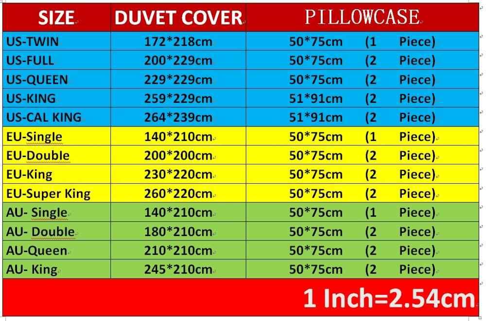 Funny Bedding Set 3PCS Cartoon Character Bed Linen Set Luxury Microfiber Duvet Cover Set Home Textiles Pillowcase