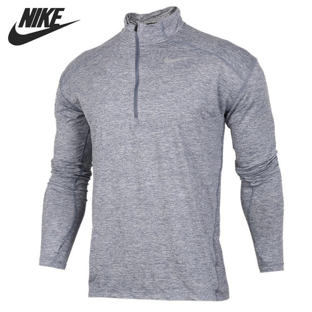 36732b8e Original New Arrival 2017 NIKE AS M DRY ELMNT TOP HZ Men's T-shirts Long  sleeve Sportswear