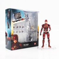 Justice League The Flash Action Figure Mafex 058 Super Hero Flash Model Toy Children Gift
