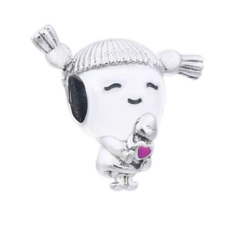 925 sterling argent perles accessoires Nouveau scorpion charme Pan fille chaîne ornements Adapte Pandora Bracelets bijoux diy faire