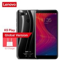 "Lenovo K5 Play L38011 3GB 32GB 4G Mobile Phone 5.7"" Snapdragon MSM8937 Octa Core 13MP+2MP Dual Back Camera Cell Phone Lenovo Phones"