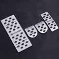 For Hyundai Verna Tucson I30 Santa fe 07-11 Car Accelerator Throttle brake pedal Foot Pedals Pad Rest Plate MT foot pedal