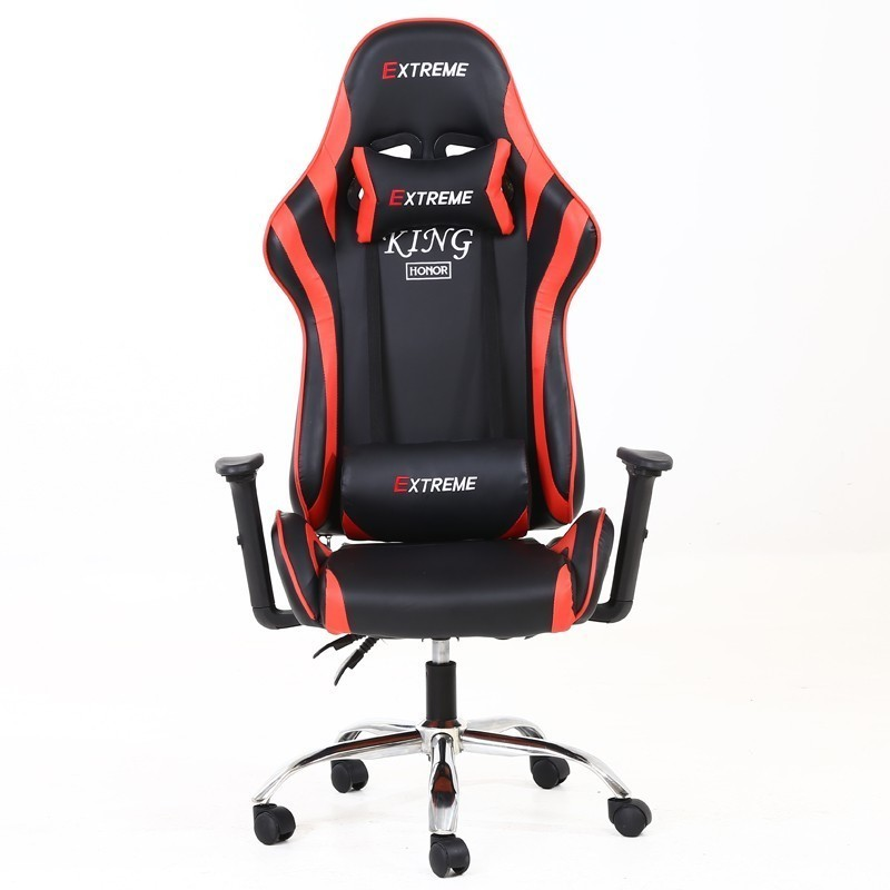 High Quality Silla Gamer Poltrona Esports Gaming Office Boss Chair Can Lie Massage With Wheel With Footrest Artificial Leather