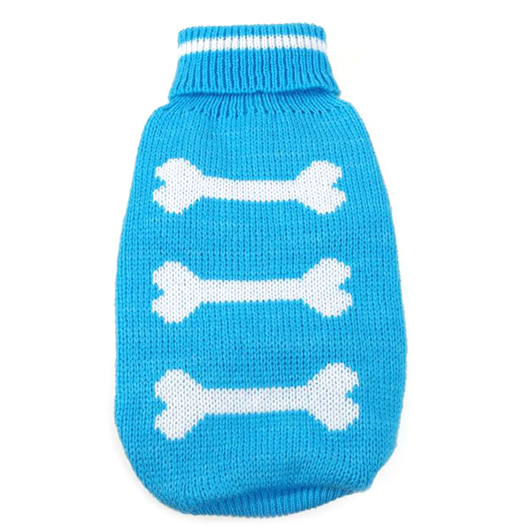 Winter Dog Clothes Sweate Christmas Best Gift New Pet Bone Pattern