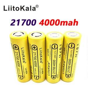 Image 4 - LiitoKala Lii 40A 21700 4000Mah Ni Pin 3.7V 40A 3.7V 30A Điện 5C Tỷ Lệ Xả