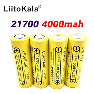 Image 4 - LiitoKala Lii 40A 21700 4000mah Li Ni סוללה 3.7V 40A 3.7V 30A כוח 5C קצב פריקה