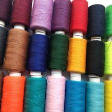 Горячий цвет 200 ярдов швейная нить полиэфирная нить набор прочных и прочных швейных нитей для ручных машин DIY Швейные аксессуары