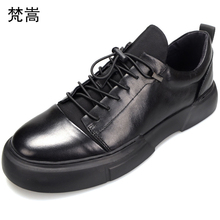 High Quality Genuine Leather Shoes Men Cowhide Muffin designer shoes men high quality casual mens Leisure spring