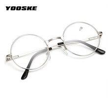 YOOSKE Retro Óculos de Leitura Das Mulheres Dos Homens Espelho Redondo Para  Harry Potter Óculos de Armação de Metal Espelho Pers. 999b6d5b6e