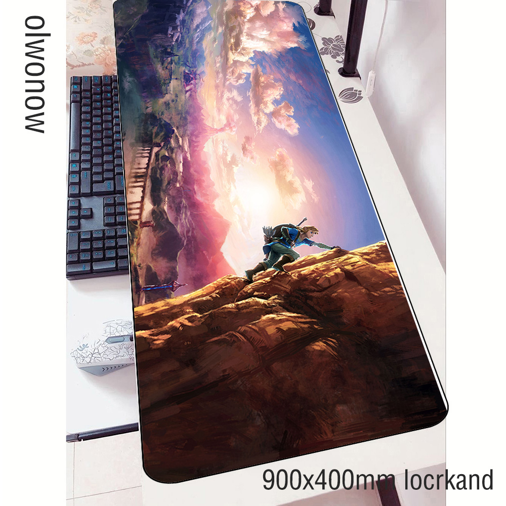 zelda <font><b>padmouse</b></font> <font><b>900x400x3mm</b></font> gaming mousepad game Christmas large mouse pad gamer computer desk best mat notbook mousemat pc image