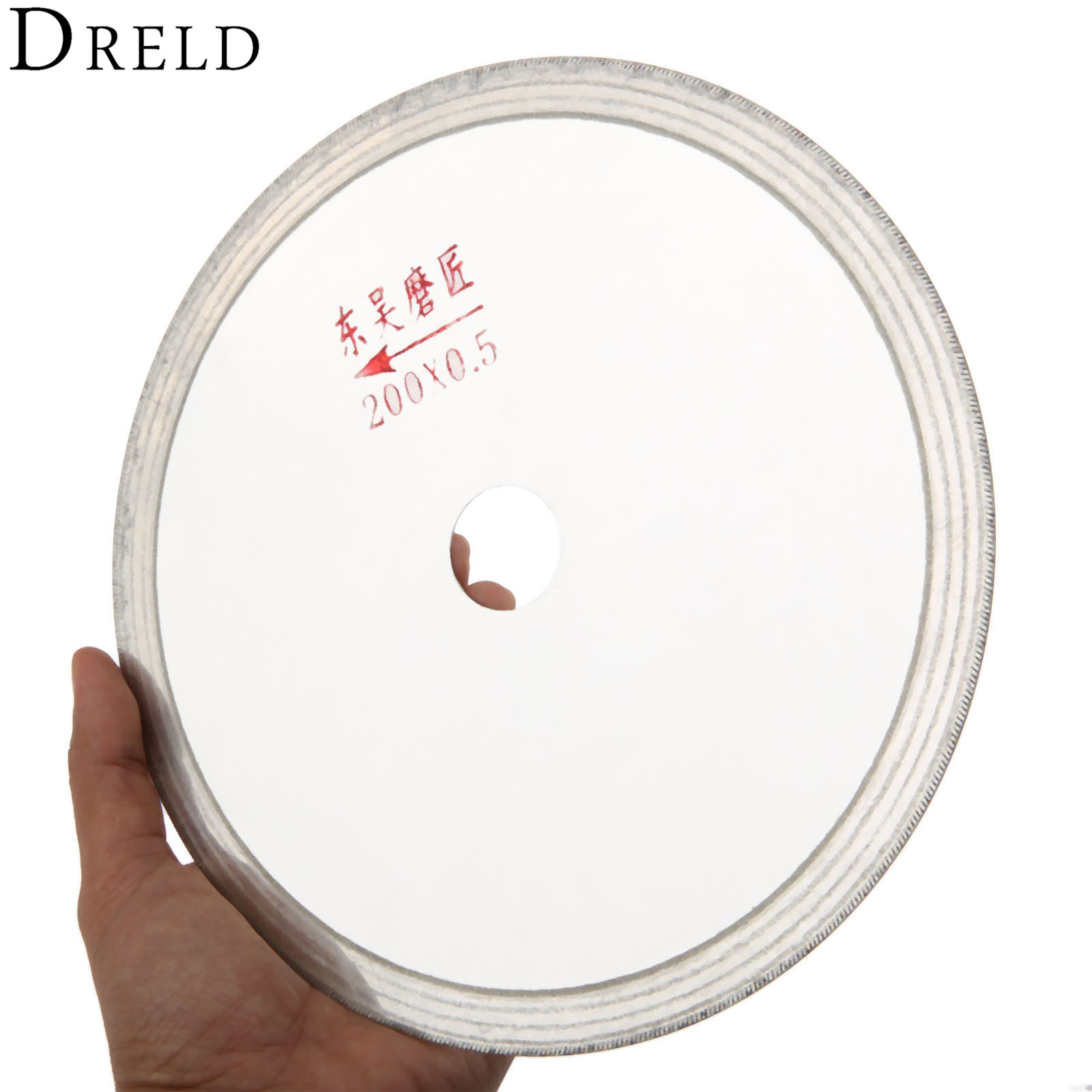 DRELD 200mm 8 Inch Dremel Accessories Ultra-thin Diamond Saw Blades Turquoise Cutting Disc Grinding Wheel For Rotary Tools