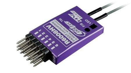Überlegene Hobby Cooltech R6008HV-B 6 kanal für Futaba fasst kompatibel empfänger
