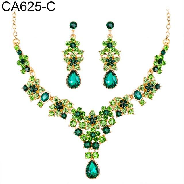 3Pcs Rhinestone Necklace...