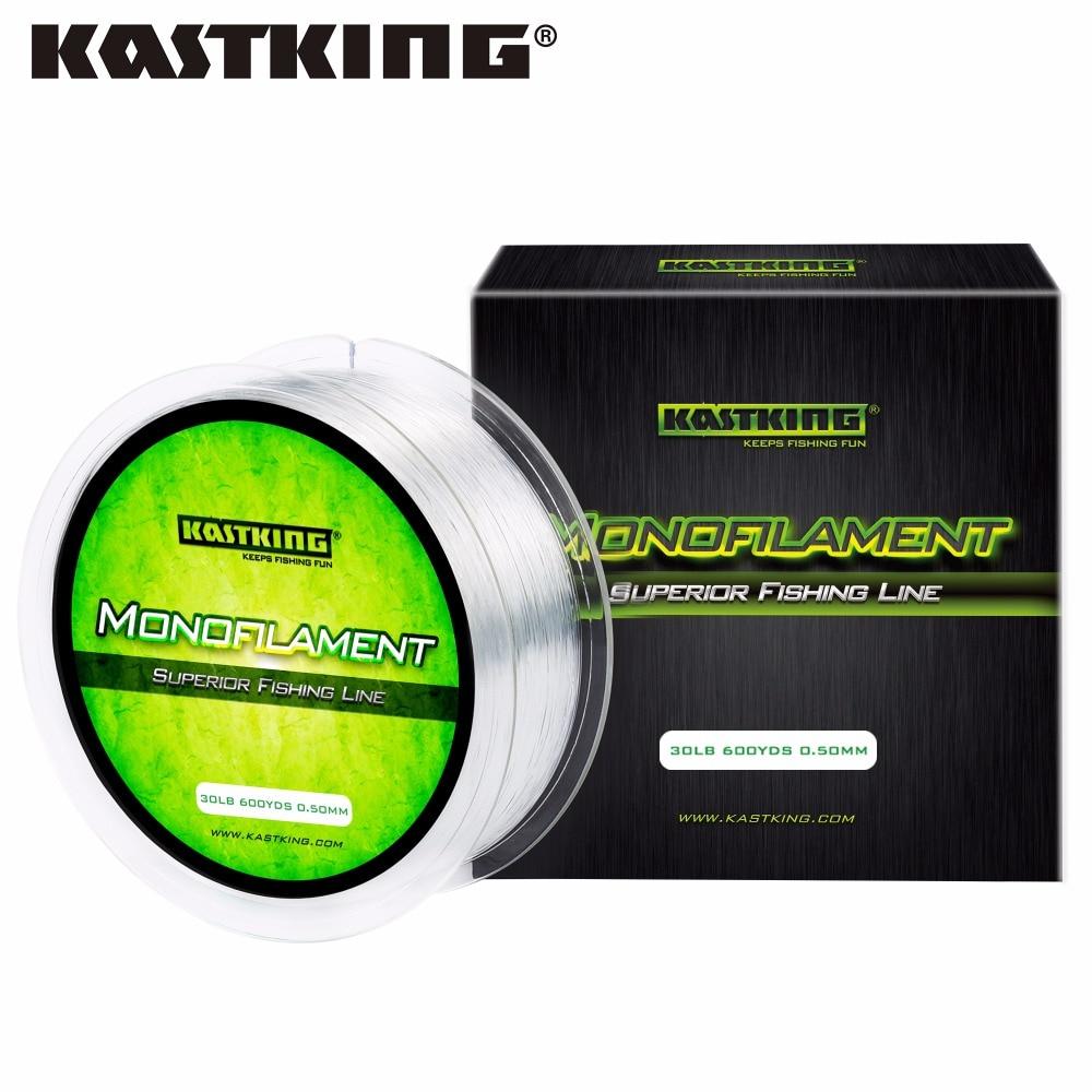 Kastking brand monofilament fishing line premium nylon for Fishing line brands