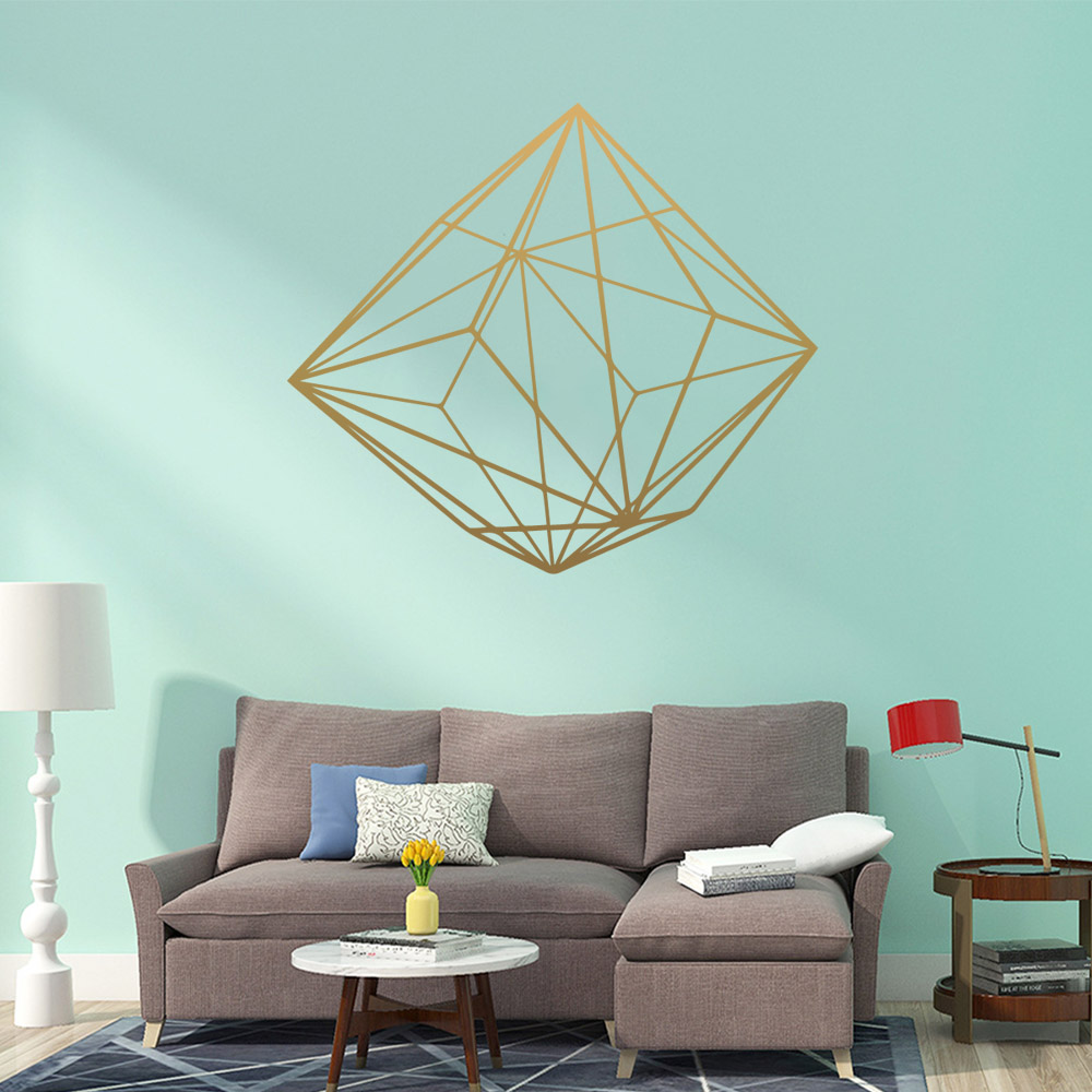 Cute geometric pattern Wall Art Decal Sticker Mural For Kids Rooms Nursery Room Decor Decoration Murals